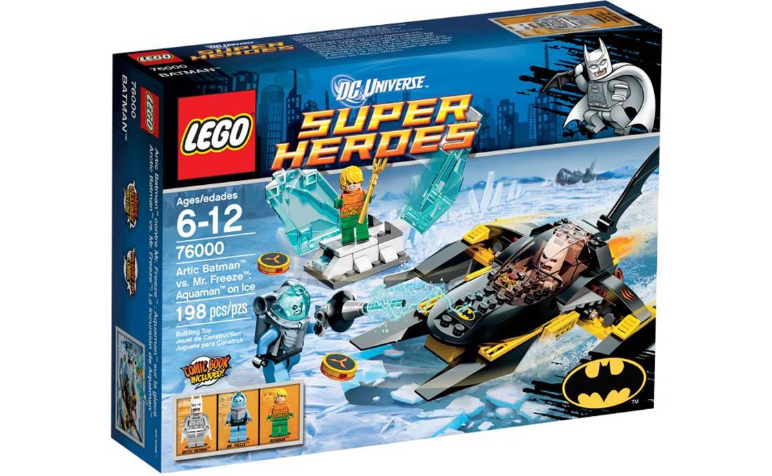 LEGO Super Heroes Бетмен проти Фріза (76000)