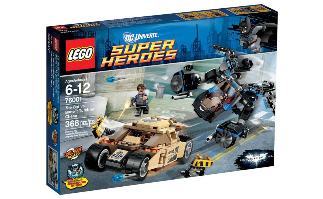 LEGO Super Heroes Бетмэн против Бейна (76001)