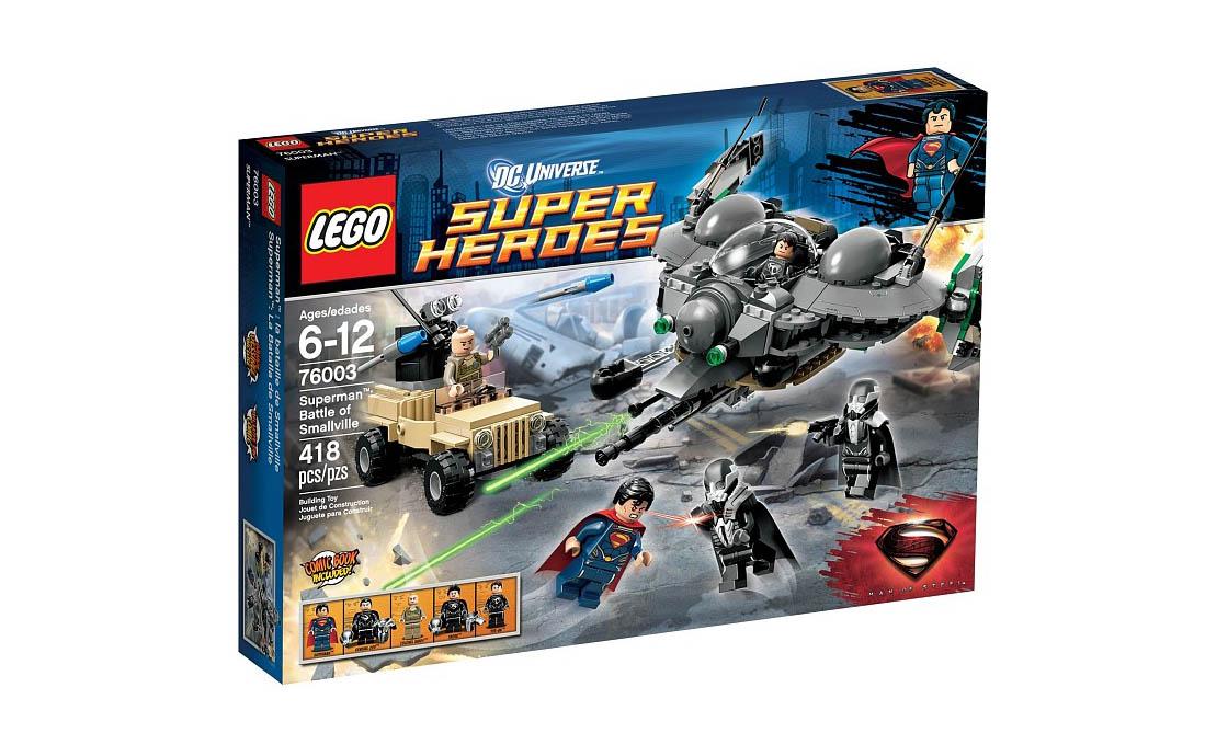 LEGO Super Heroes Битва за Смолвиль (76003)