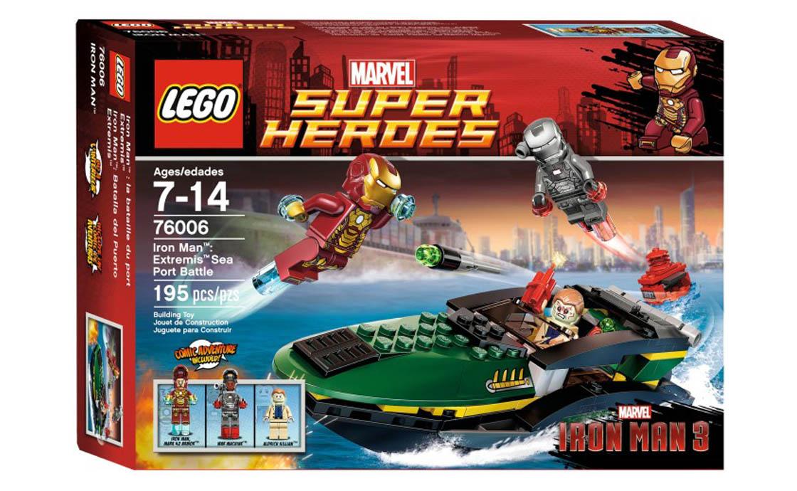 LEGO Super Heroes Битва в морському порту (76006)