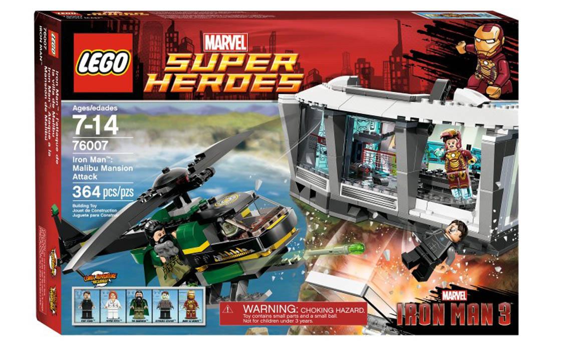 LEGO Super Heroes Нападение на особняк в Малибу (76007)