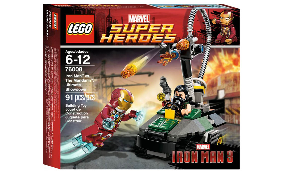 LEGO Super Heroes Железный человек против Мандарина (76008)
