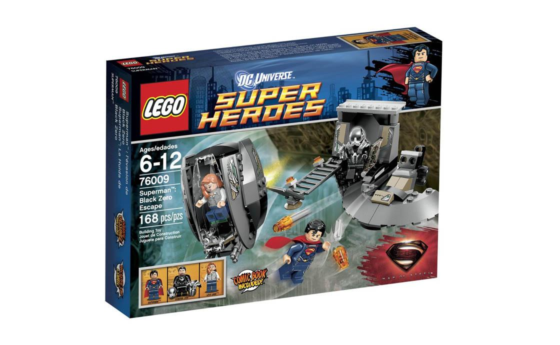 LEGO Super Heroes Побег генерала Зеро (76009)