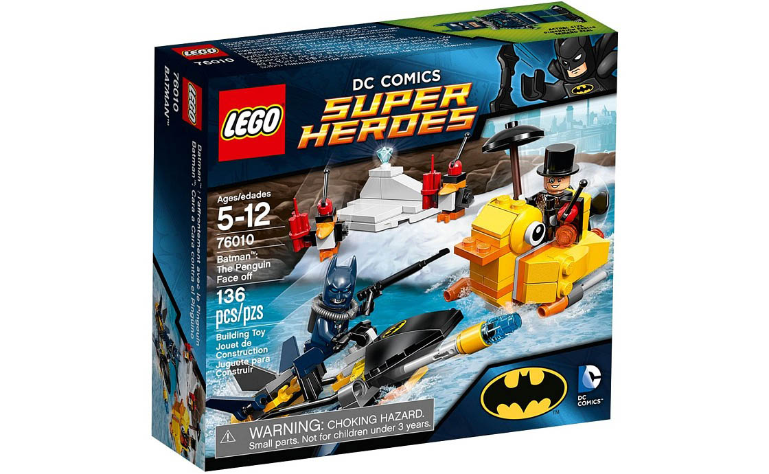 LEGO Super Heroes Встреча с Пингвином (76010)