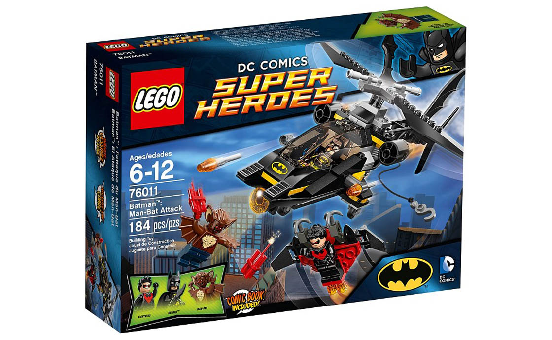 LEGO Super Heroes Атака Человека-Летучей мыши (76011)