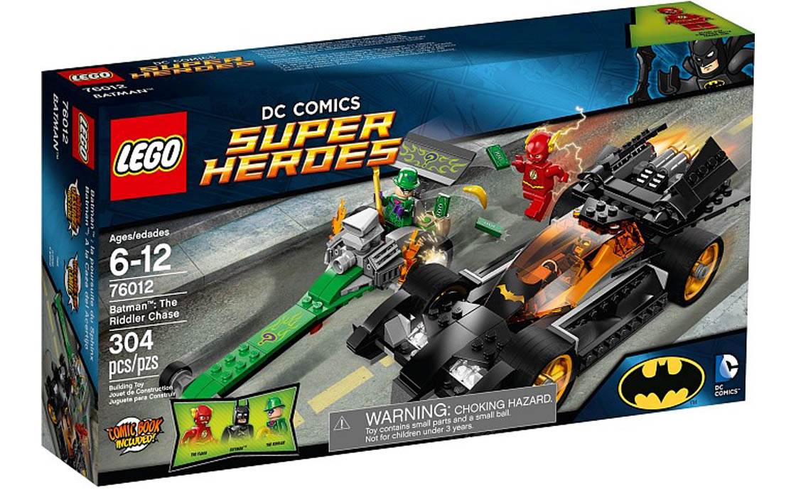 LEGO Super Heroes Погоня Ридлера (76012)