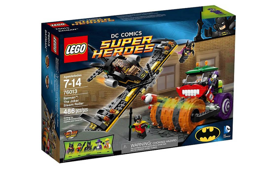 LEGO Super Heroes Паровой каток Джокера (76013)