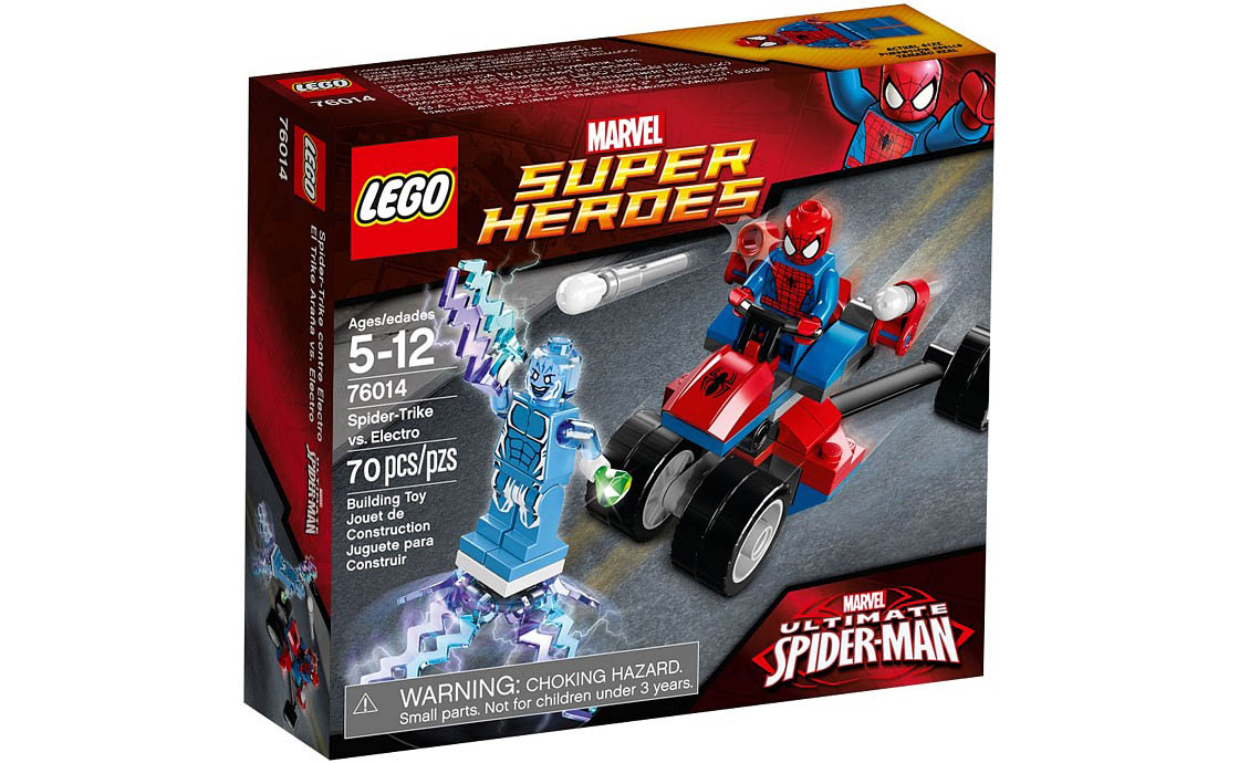 LEGO Super Heroes Человек-Паук против Электро (76014)