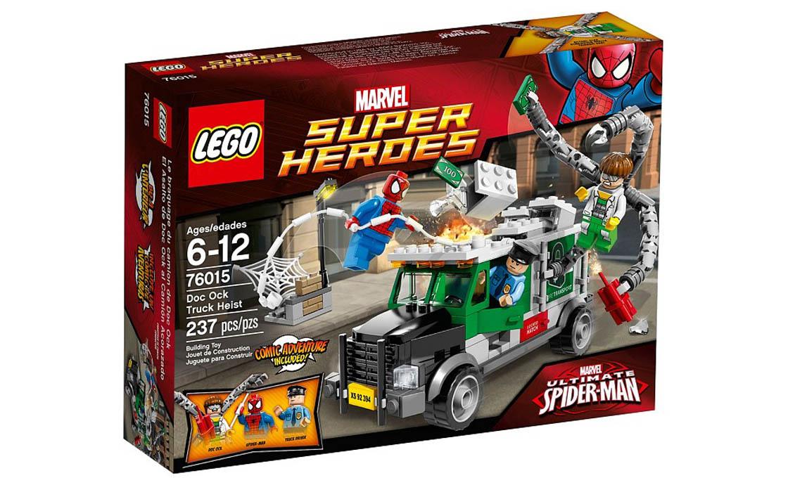 LEGO Super Heroes Паук против Доктора Осьминога (76015)