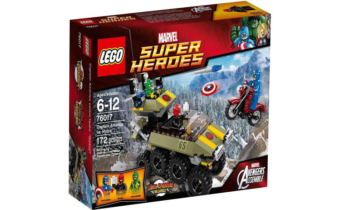 LEGO Super Heroes Капитан Америка против Гидры (76017)