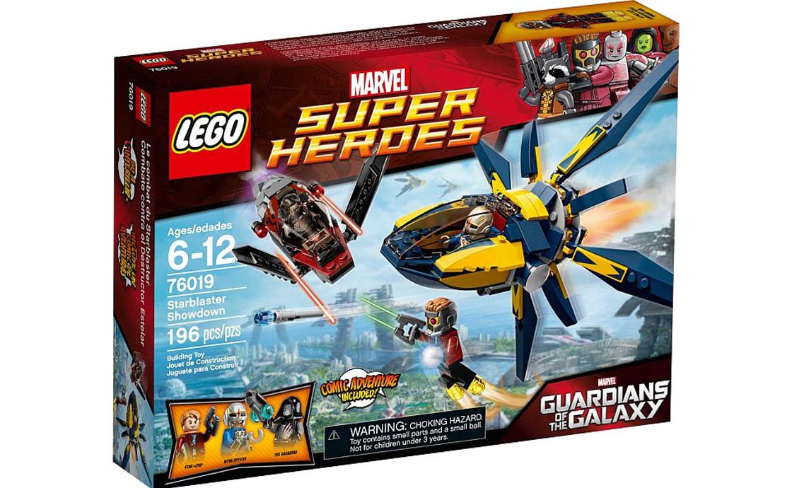LEGO Super Heroes Бластерная битва (76019)