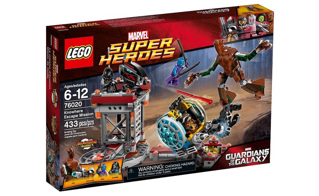 """LEGO Super Heroes LEGO Super Heroes Місія """"Втеча в Ноувер"""" (76020)"""