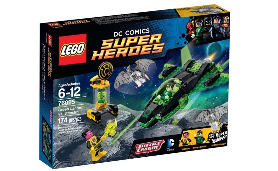 LEGO Super Heroes Зелёный Фонарь против Синестро (76025)