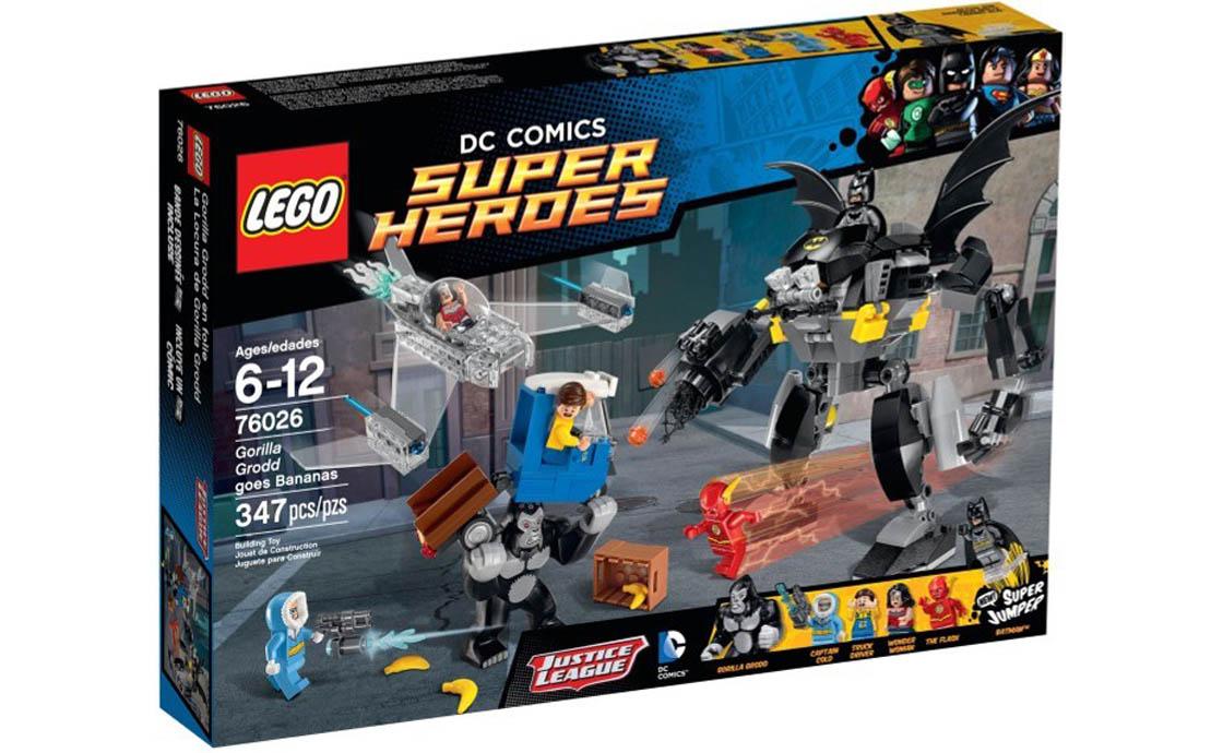 LEGO Super Heroes Горила Гродд жадає бананів (76026)