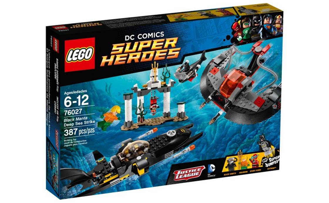 LEGO Super Heroes Підводний удар Чорного Манти (76027)