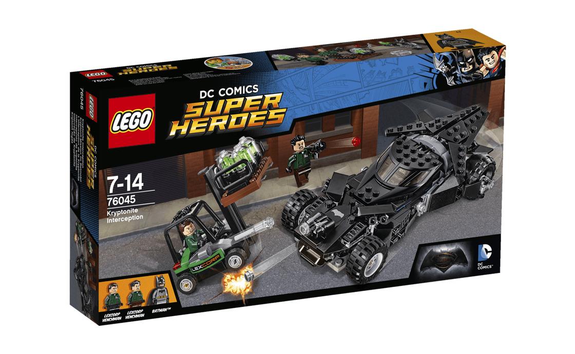 LEGO Super Heroes Перехоплення кріптоніта (76045)