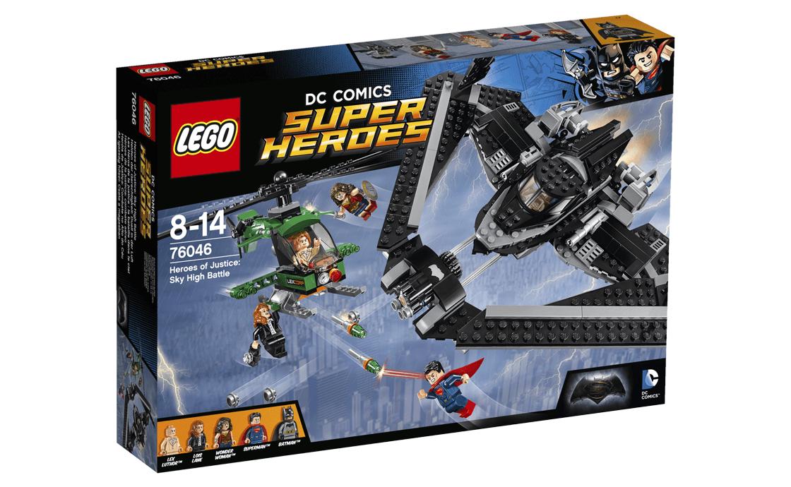 LEGO Super Heroes Поєдинок в небі (76046)