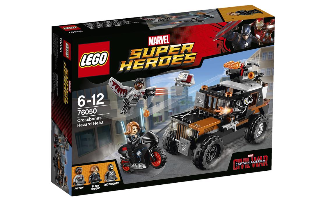 LEGO Super Heroes Небезпечне пограбування (76050)