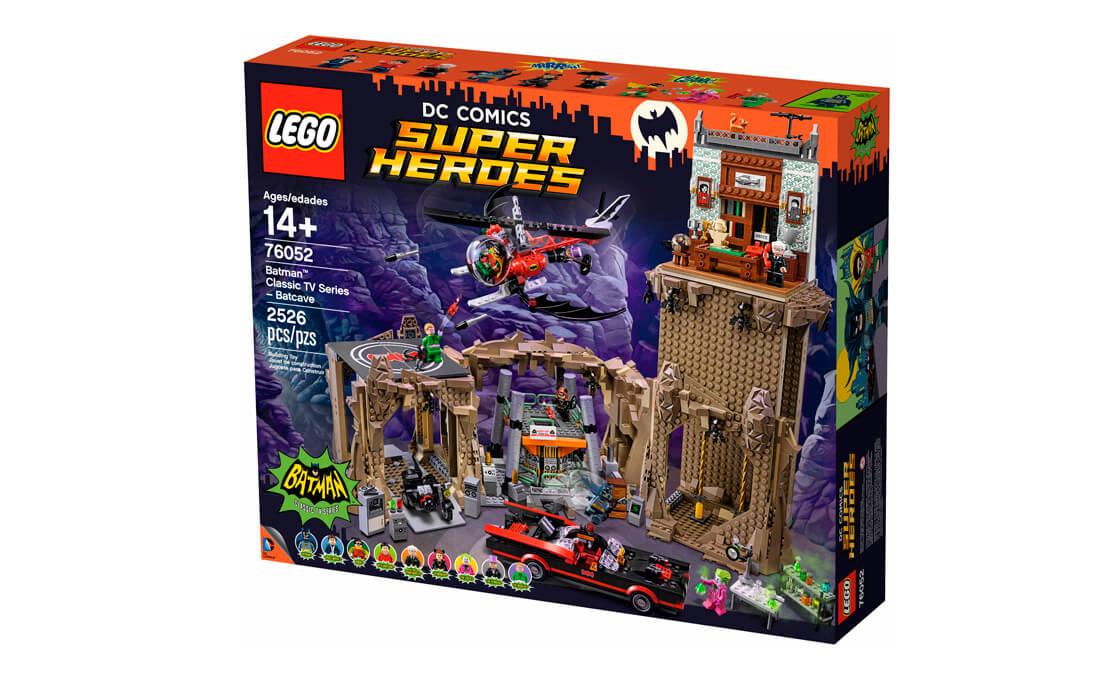 LEGO Super Heroes Бетпещера - Класичне ТБ шоу (76052)