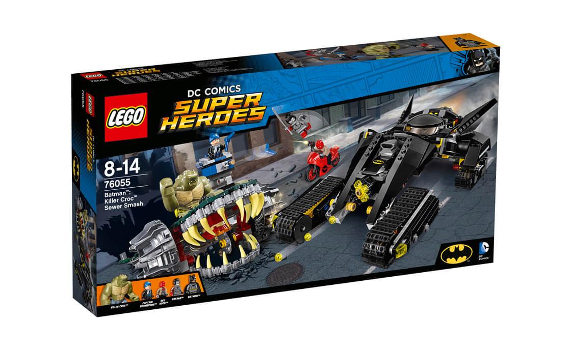LEGO Super Heroes Каналізаційний розгром Кілера Крока (76055)