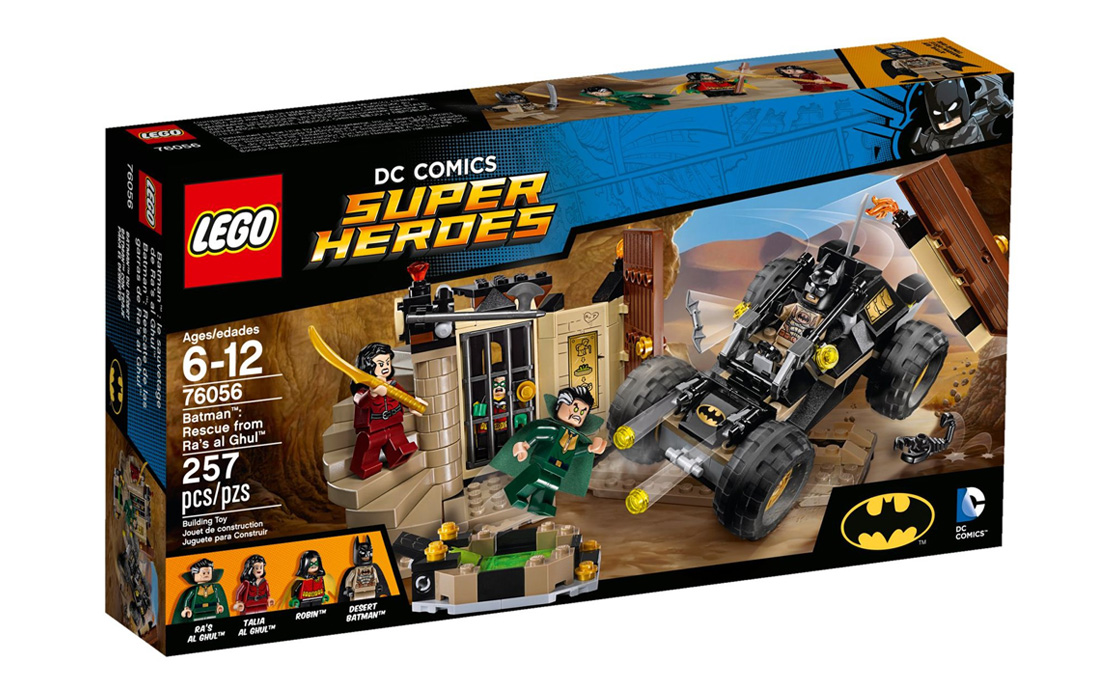 LEGO Super Heroes Бетмен: Порятунок від Ра'с аль Гула (76056)