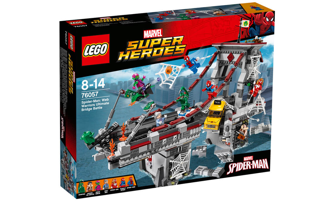 LEGO Super Heroes Вирішальна битва на мосту (76057)