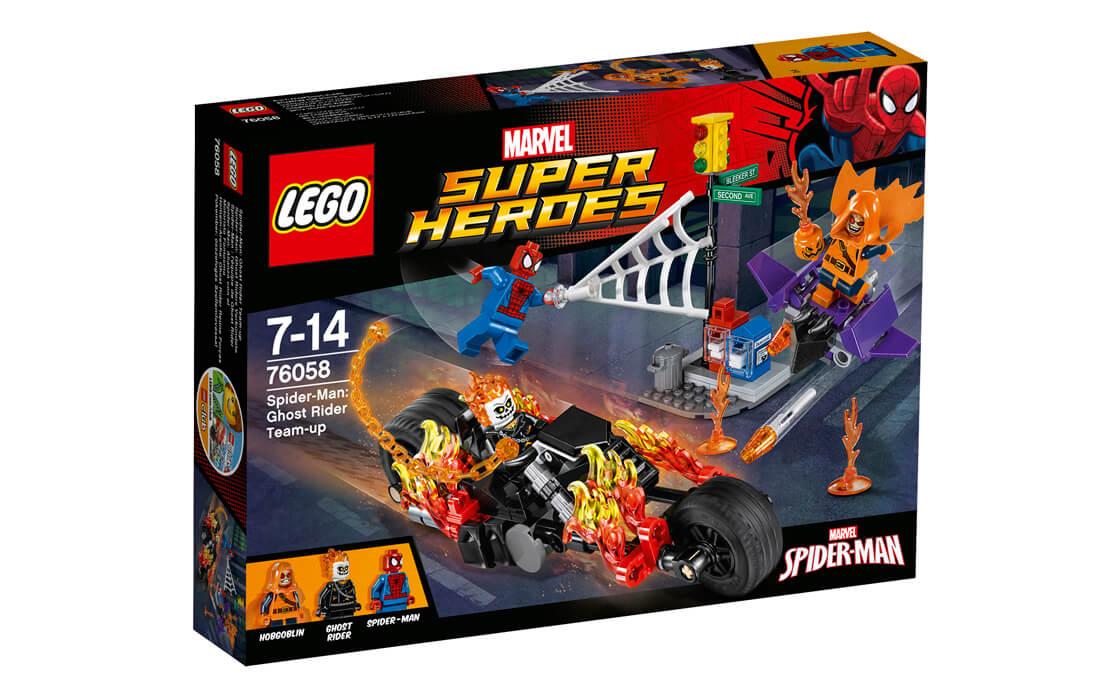 LEGO Super Heroes Людина-Павук і Примарний Гонщик (76058)