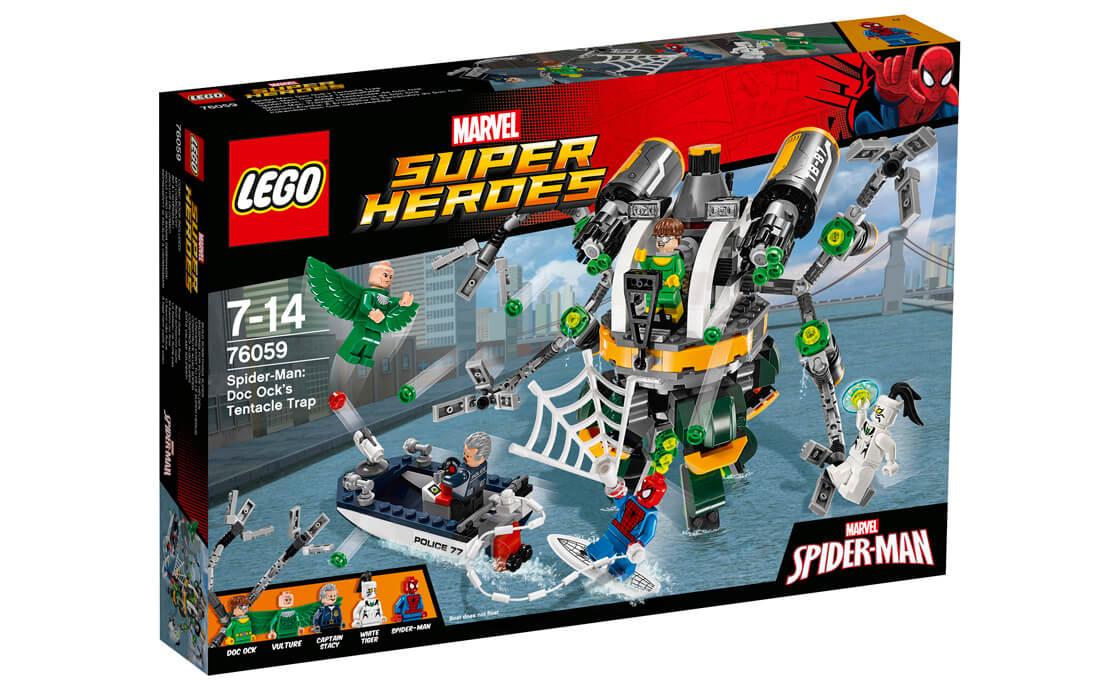 LEGO Super Heroes Щупальцева пастка Доктора Восьминога (76059)