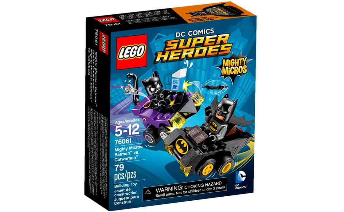 LEGO Super Heroes Бетмен проти Жінки-кішки (76061)