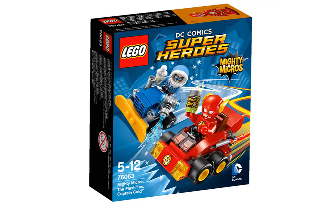 LEGO Super Heroes Флеш проти Капітана Холода (76063)