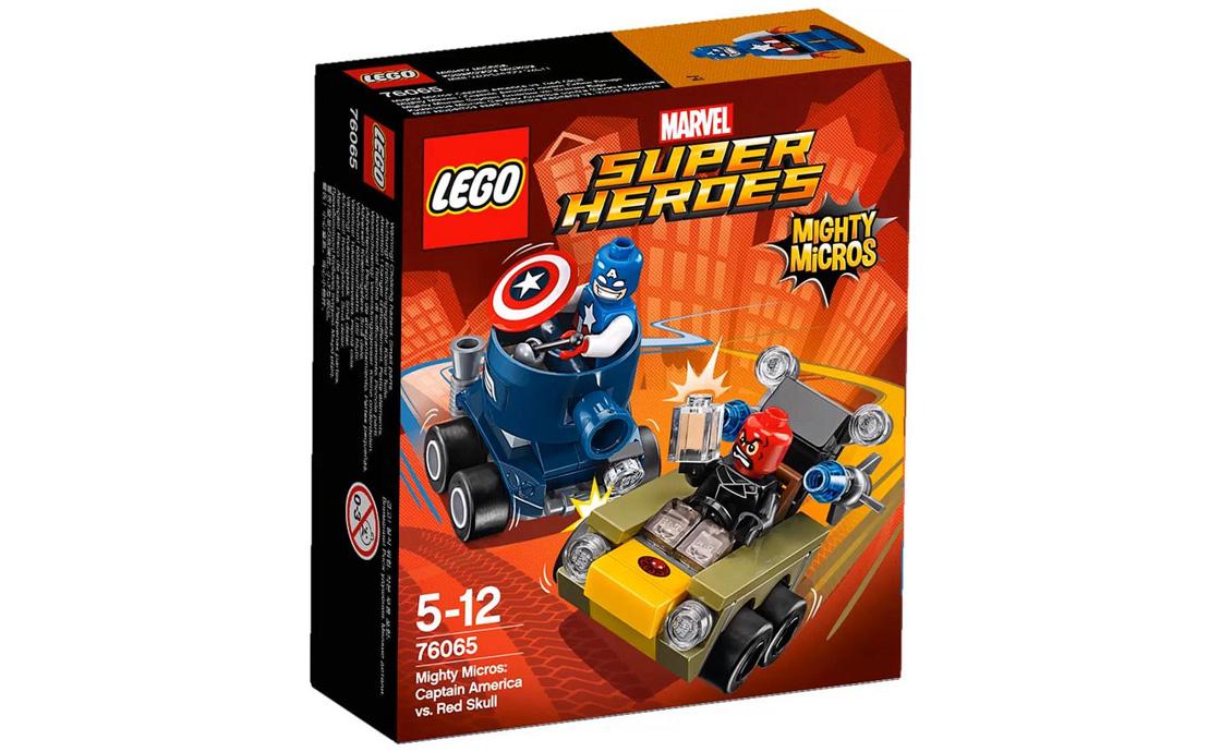 LEGO Super Heroes Капітан Америка проти Червоного Черепа (76065)
