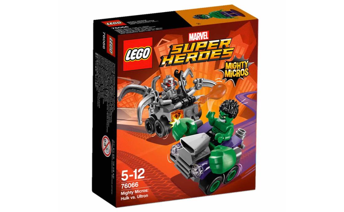 LEGO Super Heroes Халк проти Альтрона (76066)