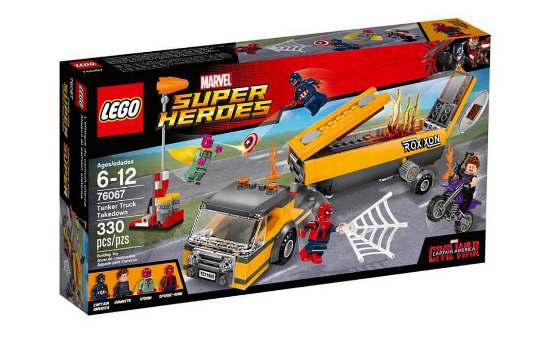 LEGO Super Heroes Знищення бензовоза (76067)