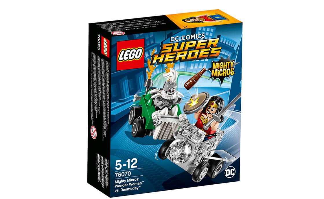 LEGO Super Heroes Чудо-жінка проти Думсдея (76070)