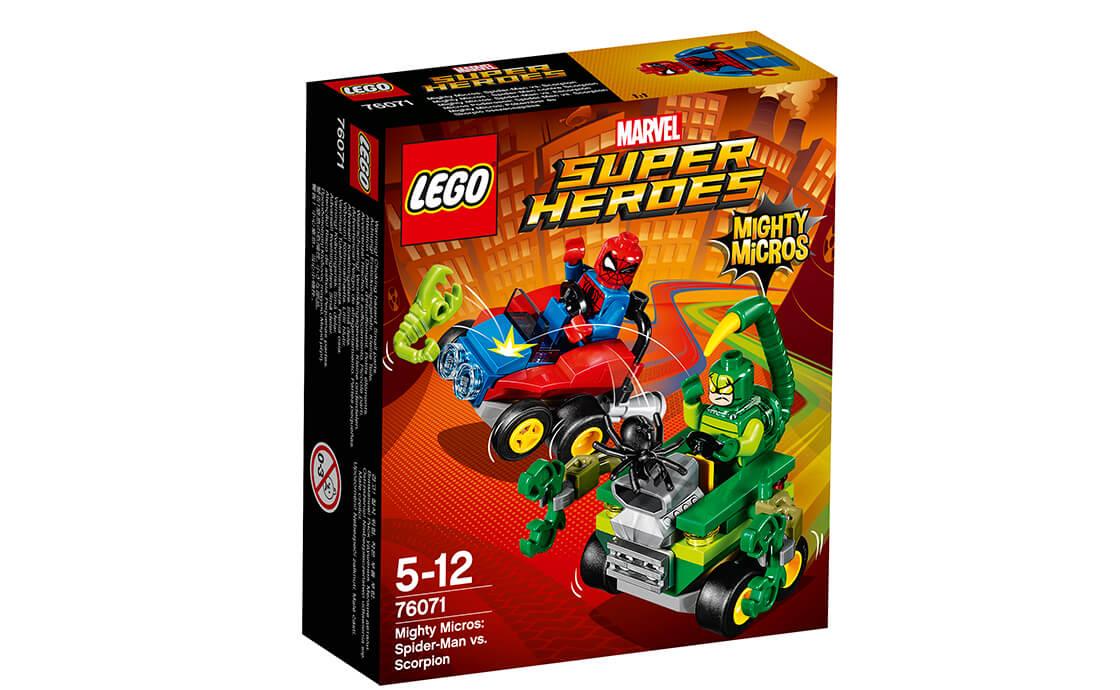 LEGO Super Heroes Людина-павук проти Скорпіона (76071)
