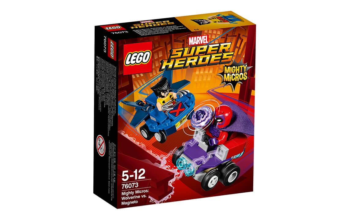 LEGO Super Heroes Росомаха проти Магнето (76073)