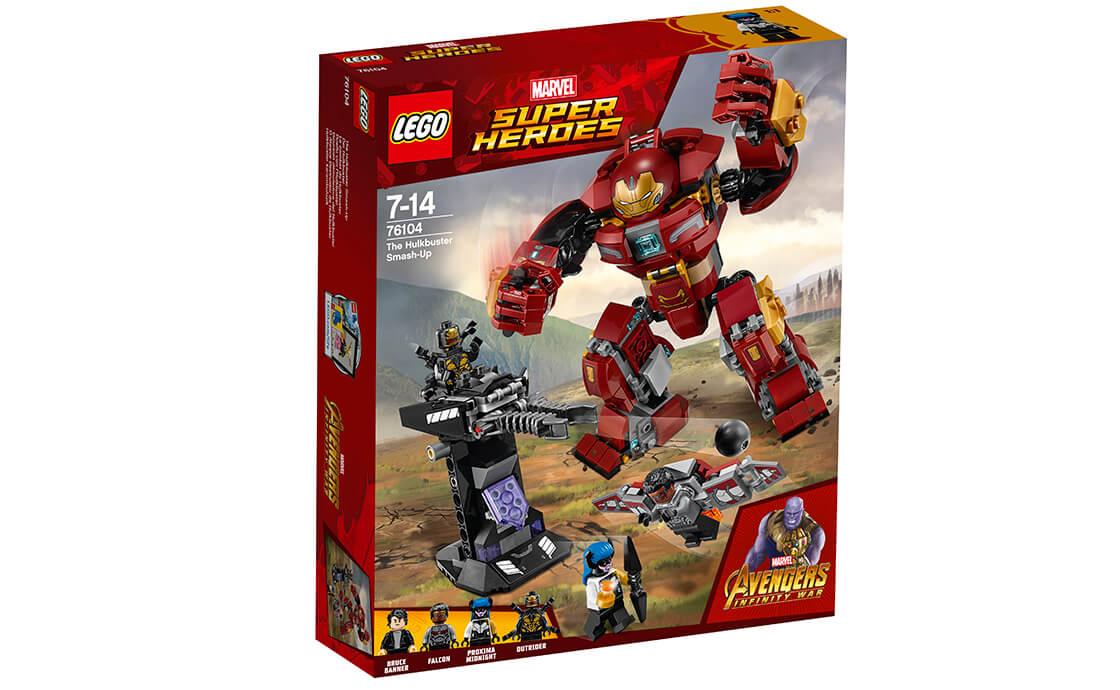 LEGO Super Heroes Бій Халкбастера (76104)