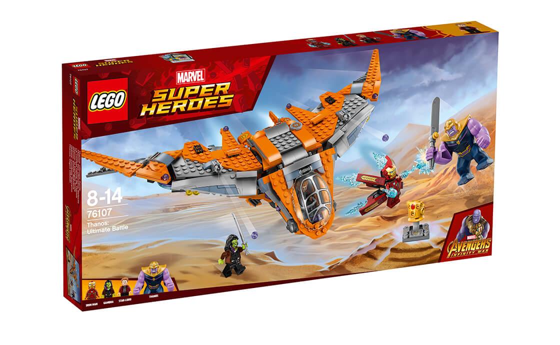 LEGO Super Heroes Остаточна битва Таноса (76107)