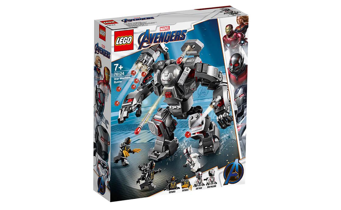 LEGO Super Heroes Воитель (76124)