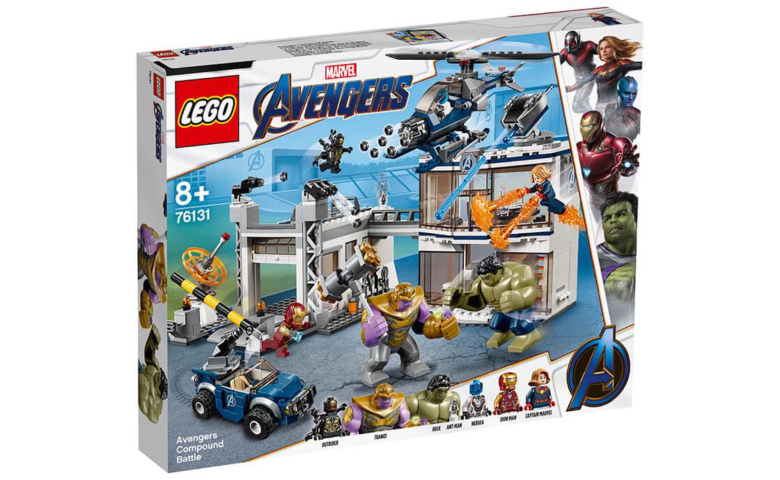 LEGO Super Heroes Битва у новій штаб-квартирі Месників (76131)