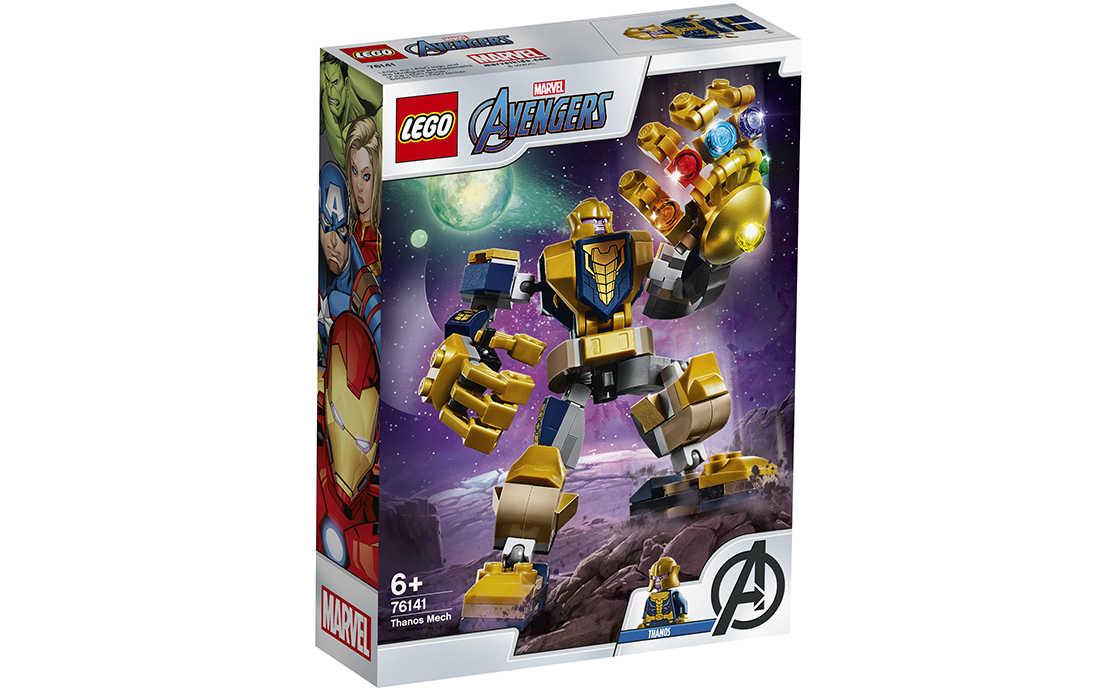 LEGO Super Heroes Танос: трансформер (76141)