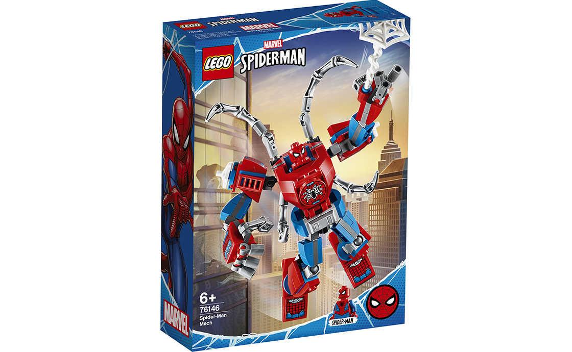 LEGO Super Heroes Людина-Павук: трансформер (76146)