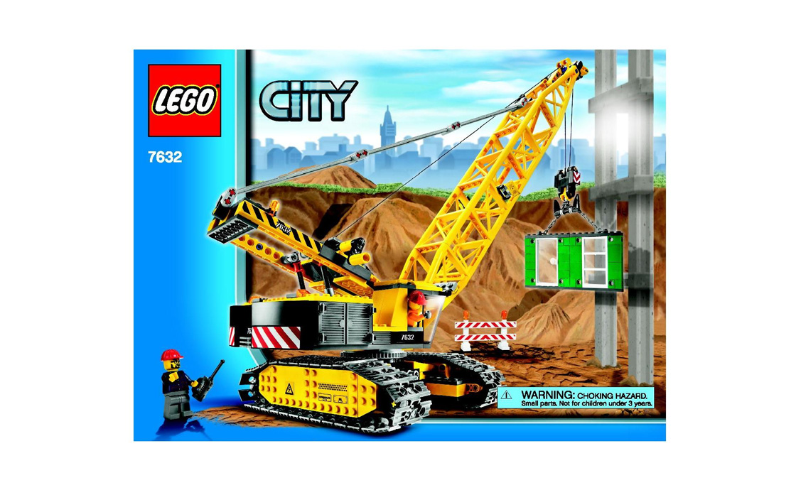 LEGO City Гусеничный кран (7632)