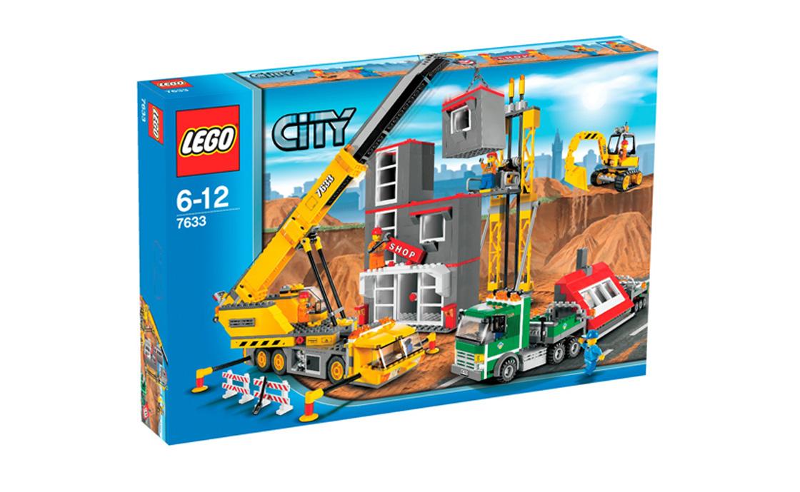 LEGO City Строительная площадка (7633)