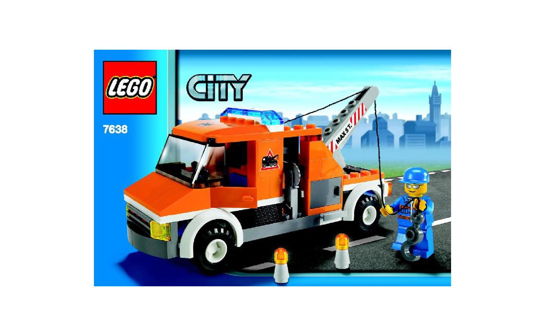 LEGO City Тягач (7638)