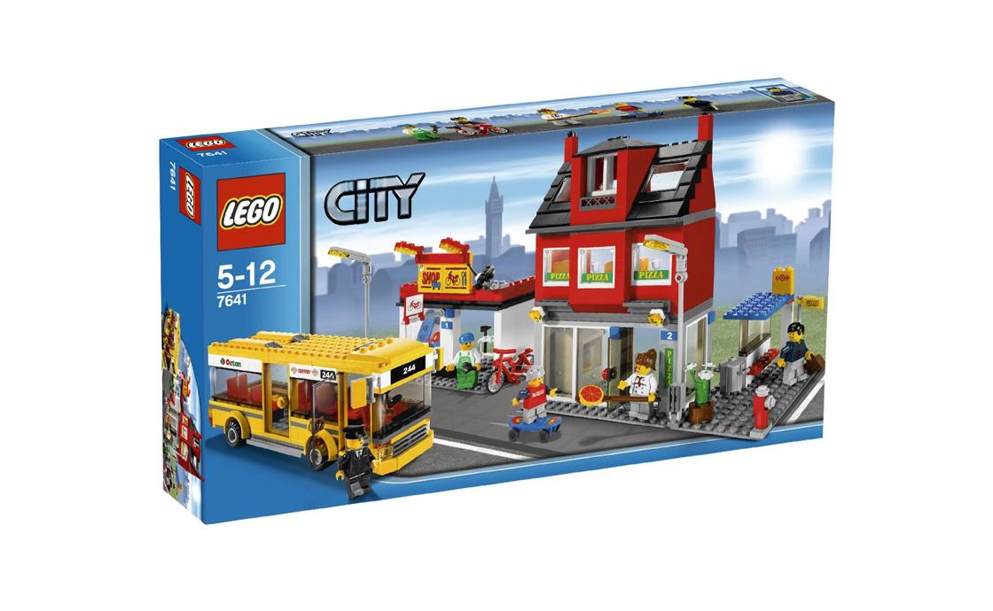 LEGO City Городской угол (7641)