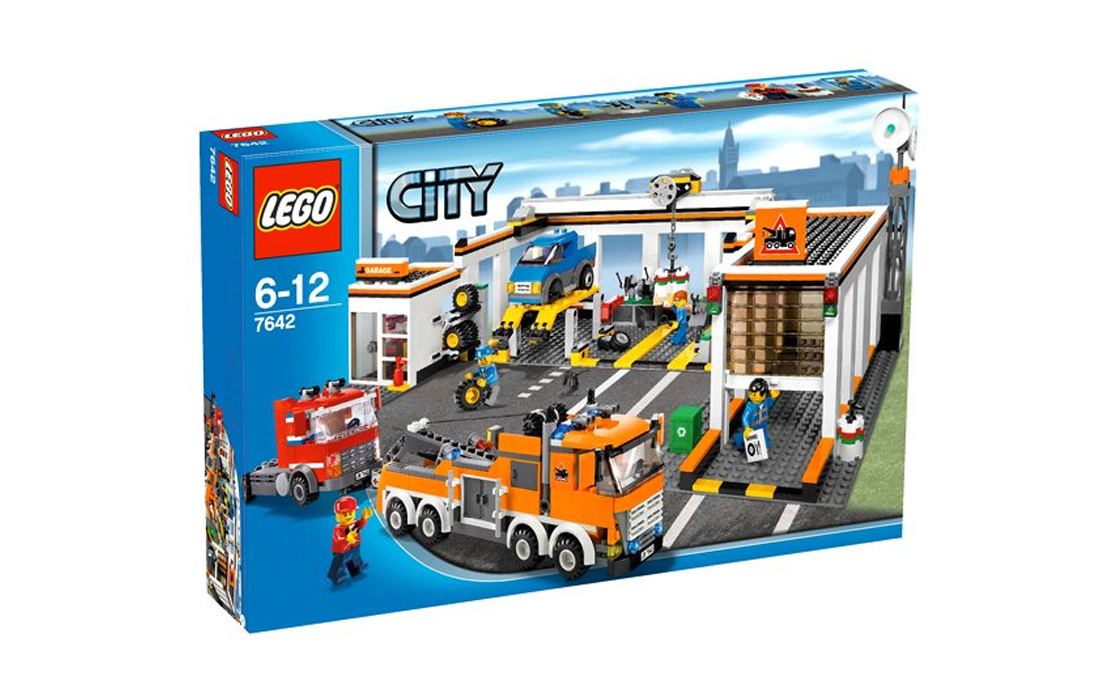LEGO City Станция тех. обслуживания (7642)