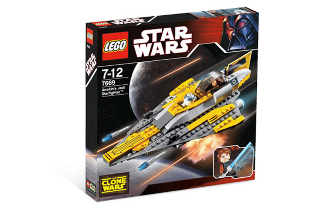 LEGO Star Wars Истребитель Анакина (7669)