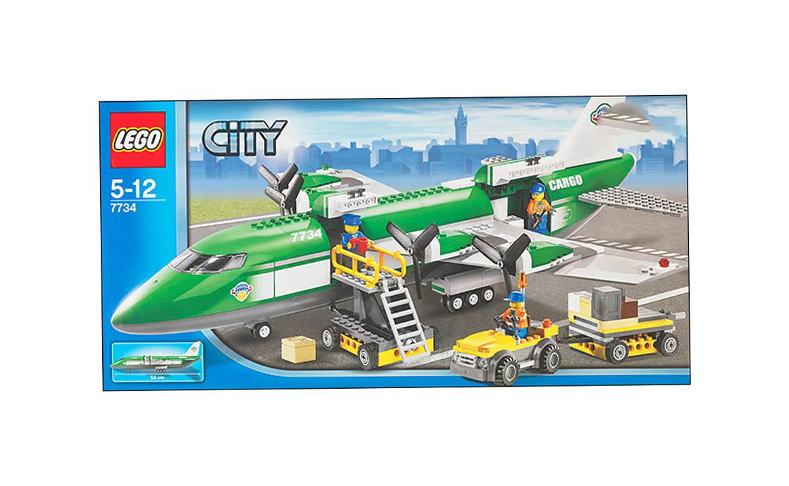 LEGO City Грузовой самолет (7734)