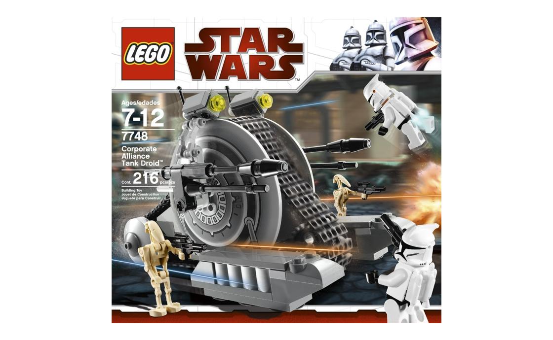 LEGO Star Wars Танк-дроид Сепаратистов (7748)